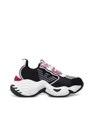 Emporio Armani  Sneaker Ayakkabı Kadın Ayakkabı S X3X115 Xm509 N107 Siyah